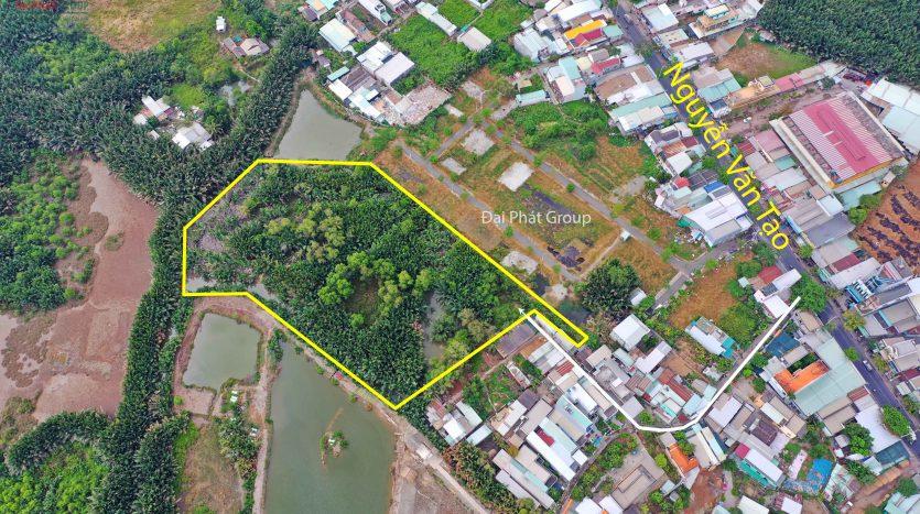 1.1hecta cách đường Nguyễn Hữu Thọ 200m- Long Thới – Nhà Bè