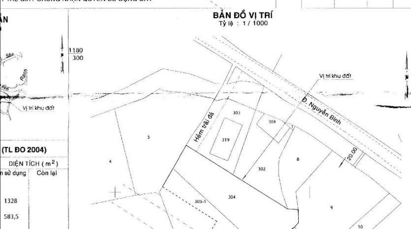 Đất 4100m2 mặt tiền đường Nguyễn Bình - Nhơn Đức - Nhà Bè