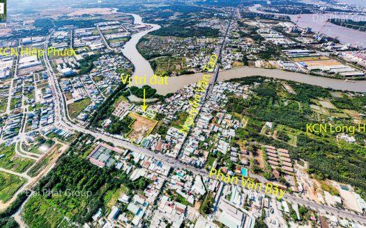 11.404m2 mặt tiền đường Phan Văn Bảy - Hiệp Phước - Nhà Bè