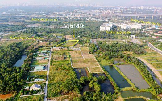 4000m2 mặt tiền Ngô Quang Thắm – Long Thới – Nhà Bè