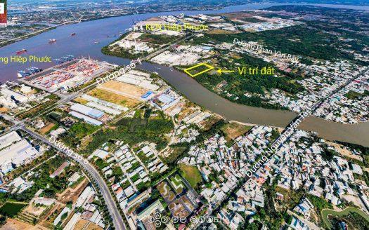 1ha mặt tiền sông Hiệp Phước - Nhà Bè