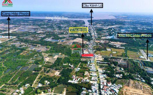 2400m2 đất thổ cư mặt tiền Nguyễn Văn Tạo - Hiệp Phước - Nhà Bè