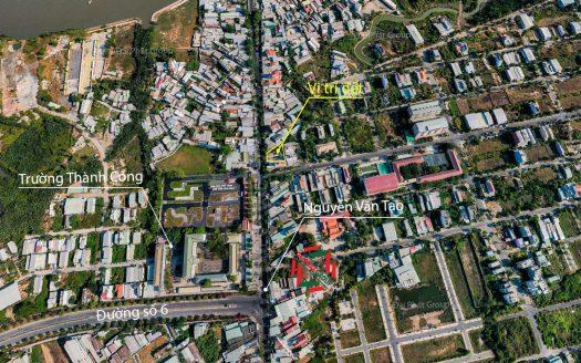 488.8m2 đất mặt tiền Nguyễn Văn Tạo, Long Thới, Nhà Bè