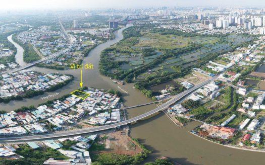 1221m2 đất thổ cư giáp sông, Phước Lộc, Nhà Bè