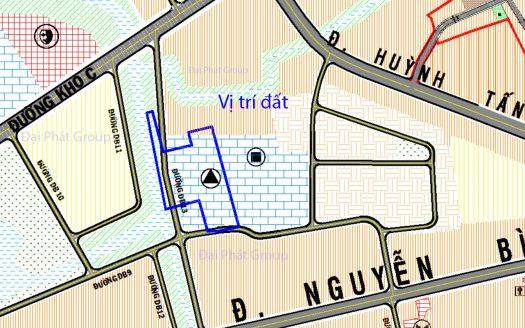 11.300m2 hẽm 4m, đường Nguyễn Bình, Phú Xuân, Nhà Bè