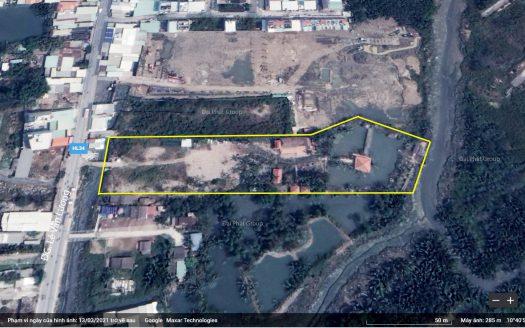 7108m2 đất mặt tiền Lê Văn Lương, Nhơn Đức, Nhà Bè