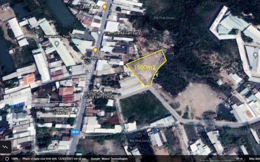 1500m2 hẽm nhựa 6m đường Lê Văn Lương, Nhơn Đức, Nhà Bè
