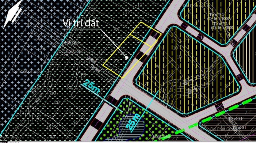 3248m2 đường 25m, Nhơn Đức, Nhà Bè